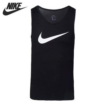 DCCKSV3 Original New Arrival 2017 NIKE AS M NK BRTHE TOP SL ELITE Men's T-shirts Sleeveless Sportswear