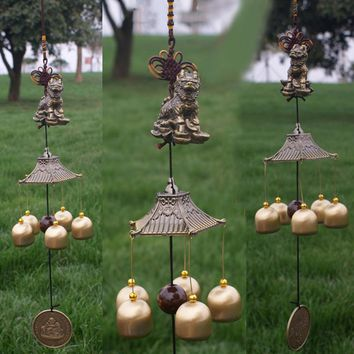 Copper Outdoor Wind Chime