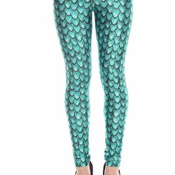 Shop mermaid scale leggings on wanelo - Kleedkamer in mansard kamer ...