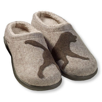 Women's Daybreak Scuffs, Dog Motif: Slippers | Free Shipping at L.L.Bean