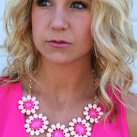 Rosemary Necklace {Fuchsia}