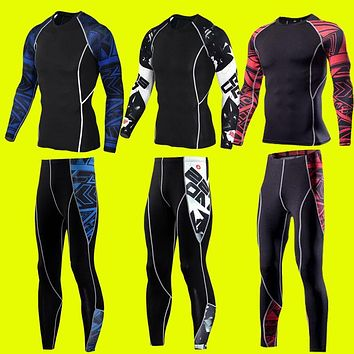 Winter Warm Men's Comfortable Thermal Underwear Sets Thick Thermal Long Johns Underwear