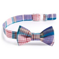 Infant Boy's Baby Bow Tie Plaid Magnetic Bow Tie