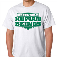 Greendale Human Beings Mascot Community T-Shirt