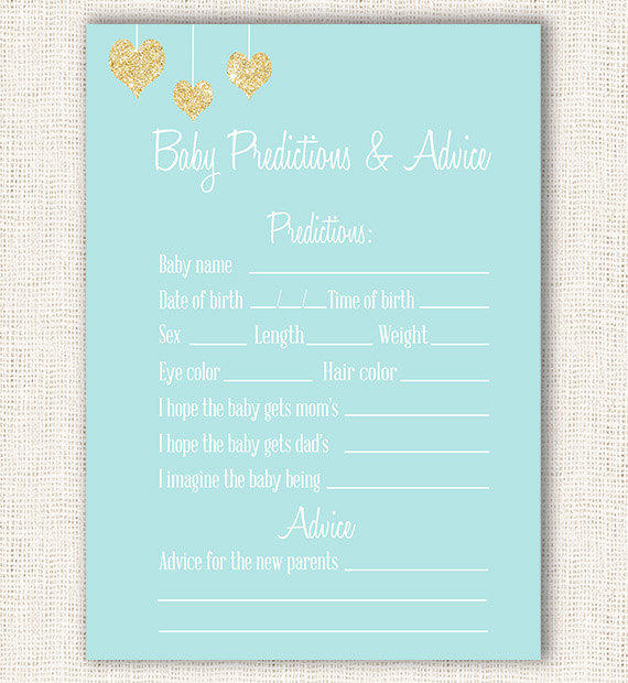 wishes for baby game blue and gold baby from projectbambino on, Baby shower invitations