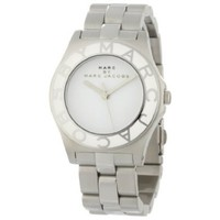 Marc by Marc Jacobs Women's MBM3048 Blade White Dial Watch - designer shoes, handbags, jewelry, watches, and fashion accessories | endless.com