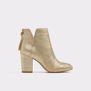 Dominicaa Gold Women's Ankle boots | ALDO UK