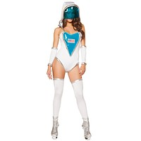 Women's Independence Day Space Suit Halloween Costume
