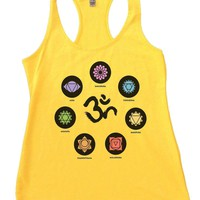 OM Womens Workout Tank Top