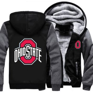 [50% OFF!!] EXCLUSIVE HOODIE JACKET ( OHIO STATE ) - FREE SHIPPING