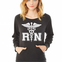 RN Registered Nurse ladies sweatshirt