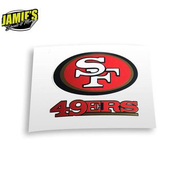San Francisco 49ers Decal JD version - Decal - Decal - Four Sizes