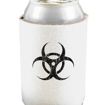 Biohazard Symbol -  Vintage Apocalypse Can and Bottle Insulator Cooler