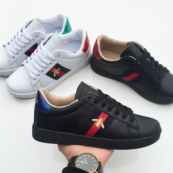 Gucci Old Skool Women Men Fashion Embroidery Sneakers Sport Shoes-3