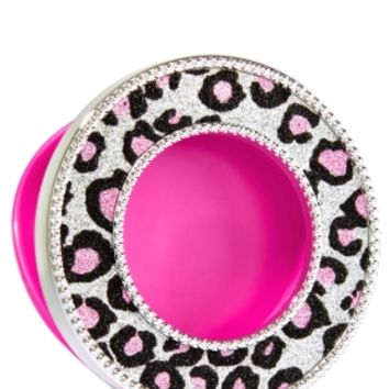 Scentportable Holder Silver & Pink Cheetah