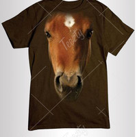 Horse T-shirt T-shirts Hoodie Hoodies Sweatshirt Sweatshirts Tank Top Tank Tops Animal T-shirts Horse Racing Horse Riding Wild Life T-shirt