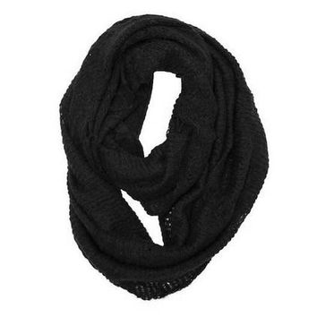 Infinity Scarf in Black