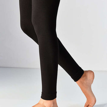 Out From Under Faux Fur Lined Footless Tight - Urban Outfitters