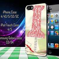Paper Towns Collage Samsung Galaxy S3/ S4 case, iPhone 4/4S / 5/ 5s/ 5c case, iPod Touch 4 / 5 case