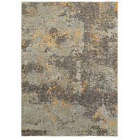Oriental Weavers Evolution 8025B Grey/ Gold Abstract Area Rug