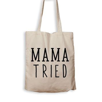 ac NOVO Mama Tried - Tote Bag
