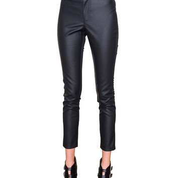 Two Sides Of Me Skinny Pants - Black