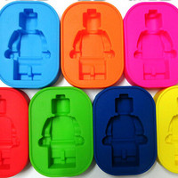 "3"" x 4.5""Lego Silicon Mold Tray"