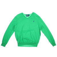Polo Ralph Lauren Mens Solid Long Sleeves Pullover Sweater
