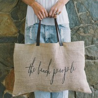 The Beach People - Jute Beach Bag | Original