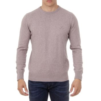 Ufford & Suffolk Polo Club Mens Sweater Long Sleeves Round Neck PULLRUS100 VISON