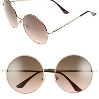 BP. Retro Oversize 60mm Round Sunglasses | Nordstrom