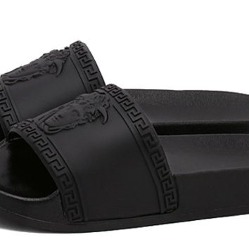 Medusa Unisex Beach Thick Crust Slippers [9470662791]