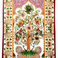 Wall Tapestry Tree of Life Hippie Bohemian Wall Hanging Bedspread Ethnic 5463