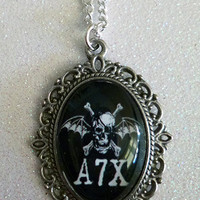 Avenged Sevenfold Inspired Cameo Necklace