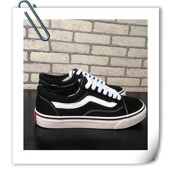 2016size 35-45 Old Skool Suede Vans Canvas shoes Unisex Shoes brand shoes for men and