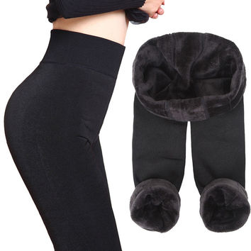 Women's Warm Fleece Legging
