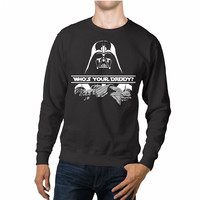 Darth Vader Who's Your Daddy Unisex Sweaters - 54R Sweater