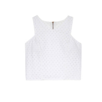 Amalfi Eyelet Crop Top