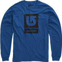 Logo Vertical Long Sleeve T Shirt | Burton Snowboards