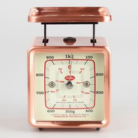 Mini Retro Copper Kitchen Scale
