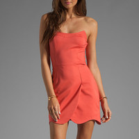 Funktional Hi-Res Curved Dress in Hi-Res Red from REVOLVEclothing.com