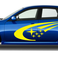 Subaru WRX STI Rally Body Decals