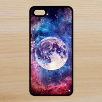 Moon Galaxy Space Art Phone Case iPhone 4 / 4s / 5 / 5s / 5c /6 / 6s /6+ Apple Samsung Galaxy S3 / S4 / S5 / S6