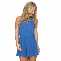 Sing The Blues Romper