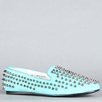 Unif The Hellraiser Shoe in Turquoise and Silver SpikesExclusive : Karmaloop.com - Global Concrete Culture