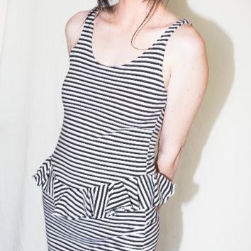 The Striped Tank  // 90s VINTAGE