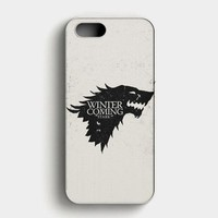 Game Of Thrones NightS Watch Design iPhone SE Case