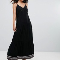 Tommy Hilfiger Denim Strappy Maxi Dress at asos.com