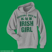 Irish Girl Pride St Patricks Day