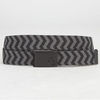 Billabong Cog Belt Black/Grey One Size For Men 24132412701